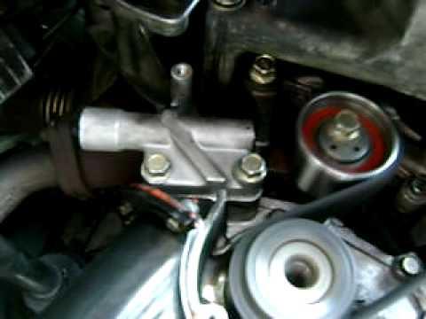 Chyrsler sebring 2000 2.5l timing belt noise