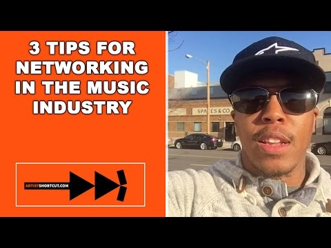 3 Tips For Networking In The Music Industry