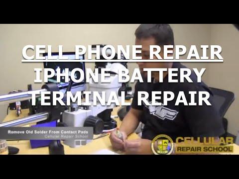 iPhone 3, 3G, 4, 4S, 5, 5S Battery Terminal Replacement Repair