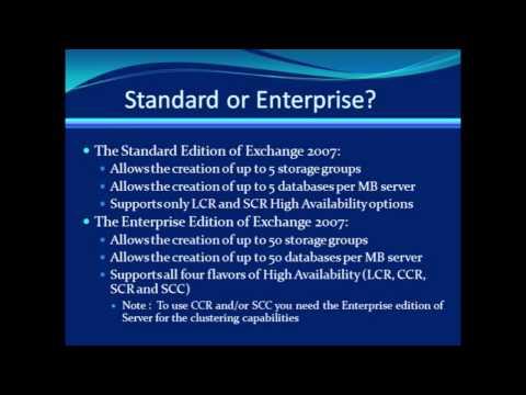 Standard or Enterprise?