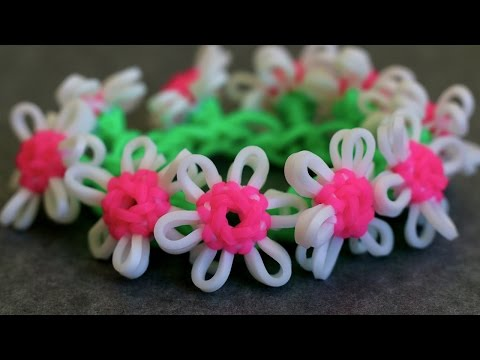 Requested Video:  Daisy Chain on One Rainbow Loom