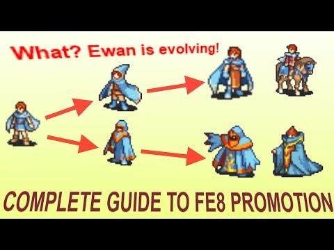 Promotion Guide for Fire Emblem: The Sacred Stones