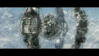 Sci_fi Space Station - Test modeling in C4D - Cloud in Cinema 4D