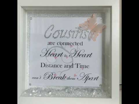 Personalized box frames for any occasion