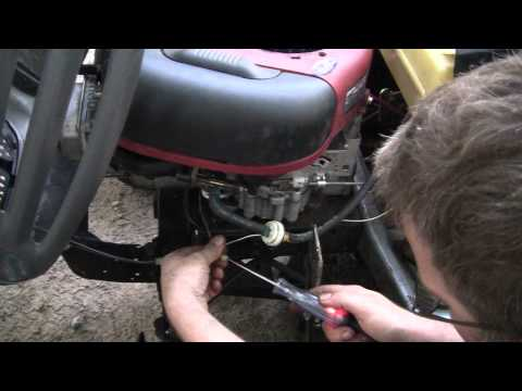 The Murray lawn tractor repair