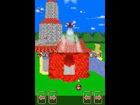 Super Mario 64 DS Custom Level: Beta Castle Grounds