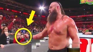 10 Times BRAUN STROWMAN Broke Character in WWE