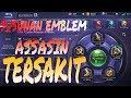 SUSUNAN EMBLEM TALENT ASSASIN TERSAKIT by IRVAN JR - MOBILE LEGENDS BANG BANG