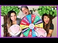 MYSTERY WHEEL OF CAKE CHALLENGE! Princess ToysReview and Greedy Granny