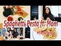Spaghetti Pesto ft. Mom | #ChefJamanNow | Caca Zeta