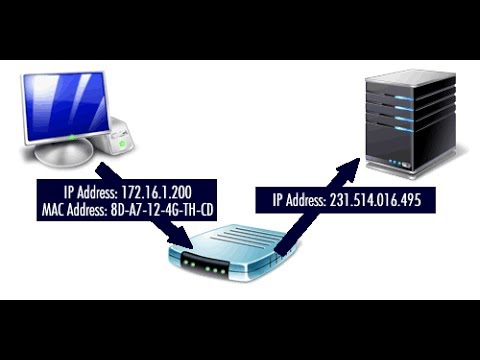 what is IP address and MAC address?