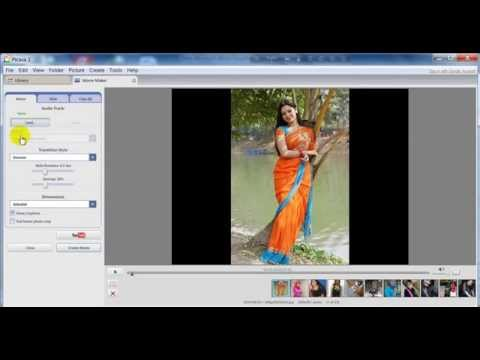 How To Create Video Photo Slider with Image and Audio by Picasa Software