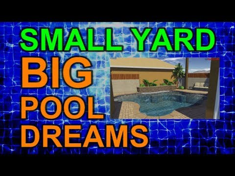 Evolution of a Pool Design ABRIDGED - Small Yard Big Pool Dreams Ep 4b   Sketches and Renders Only