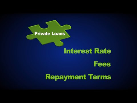 Understand the Rates, Fees, and Terms of Your Private Student Loan