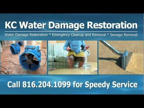Kansas City MO Water Damage Restoration, Water Removal, Sewage Removal, Water Cleanup, Flood Damage
