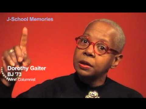 Dorothy J. Gaiter: Memories of the J-School