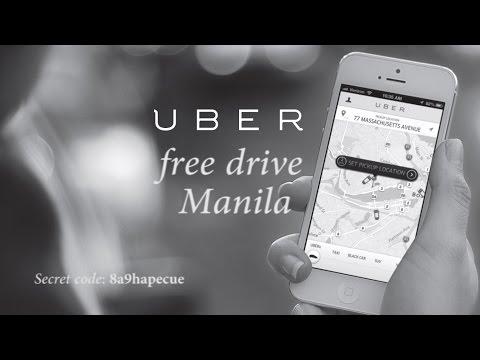 Free rides in Manila using Uber