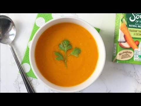 Soup Taste Test! | Thai Carrot & Coconut Heinz Soup of the Day