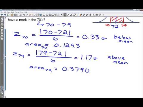 MDM 16 17 C Applications of Normal Distribution   examples
