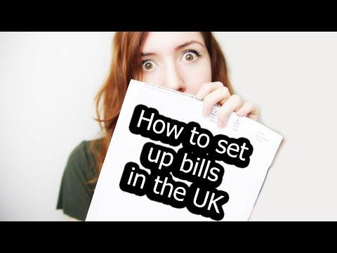 Setting Up Bills In The UK - Gas, Electricity, Internet etc! #germangirlinlondon | Jen Dre