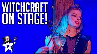 Best BEWITCHED Auditions on Got Talent | Magician