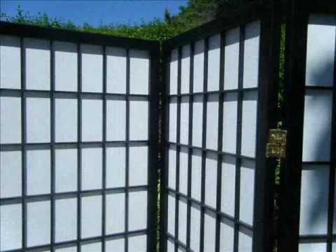 Japanese Shoji Room Divider 4 Panel Screens eBay listing by Alchemistic