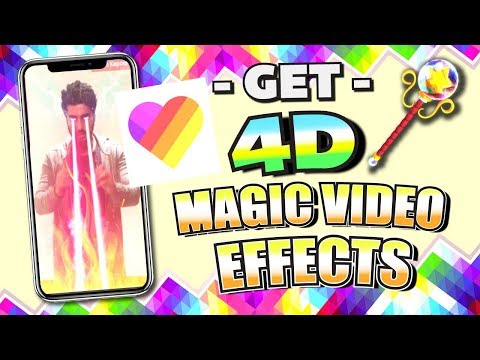 Get TOP Video Editing App - LIKE APP (4D Magic Effects!) for iPhone / Android