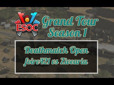 [AoE3] ESOC Grand Tour S1 // Deathmatch — Semi-Finals: Zivearia vs foire421