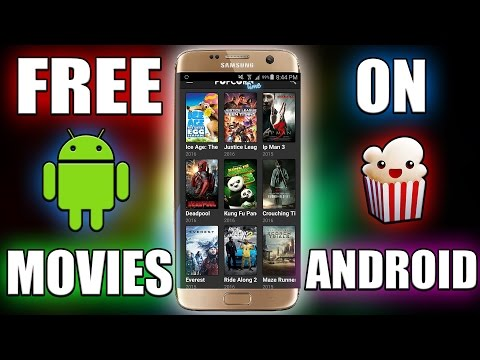 How to get Free Movies/TV Shows on Android 6.0! (Popcorntime)/100 SUBSCRIBERS!
