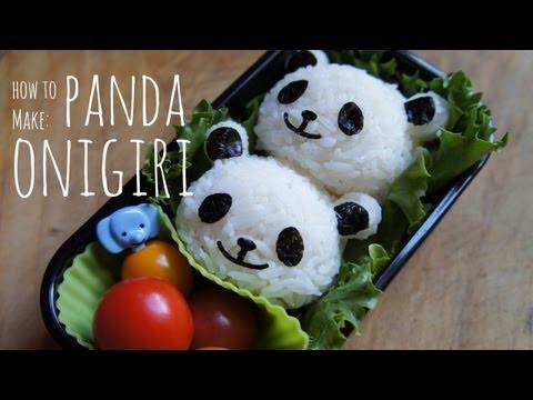 How to Make Cute Panda Onigiri