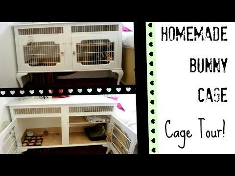HOMEMADE | Bunny Cage Tour!