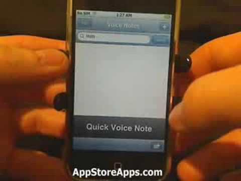 iPhone App Store - VoiceNotes
