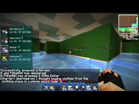 Minecraft 1.6.4   Pixelmon 2.5.7 How To Get to MewTwo! PixelBuilt Server