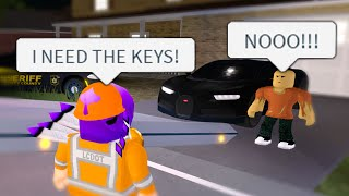 I Gave Him The Cops Called Roblox Liberty County S1ep8