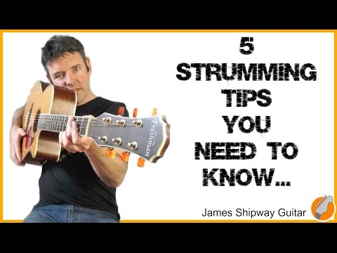 Strumming - How To Strum the Guitar