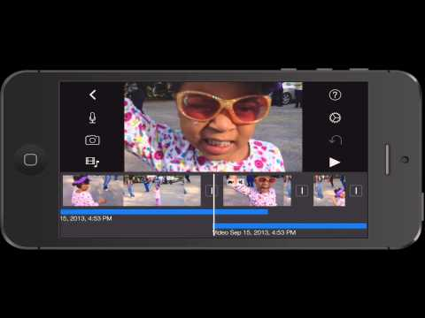 How to create a freeze frame with iMovie for iOS