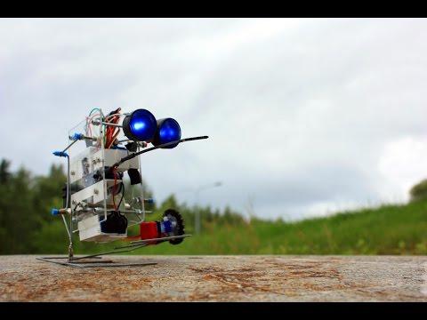 Programmable Homemade Walking Robot
