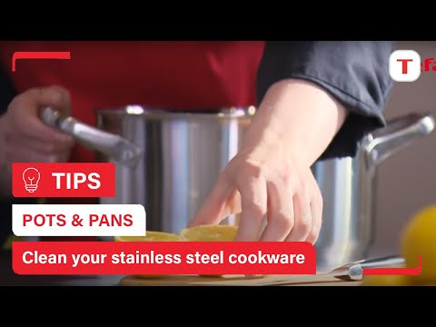 Cleaning Stainless Steel - White and blue stains - Tefal tips