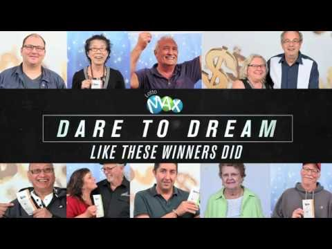 Dare to dream like these Lotto Max winners did.