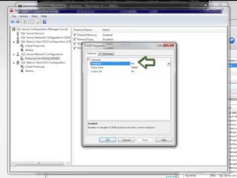 Change SQL Server TCP-IP Port