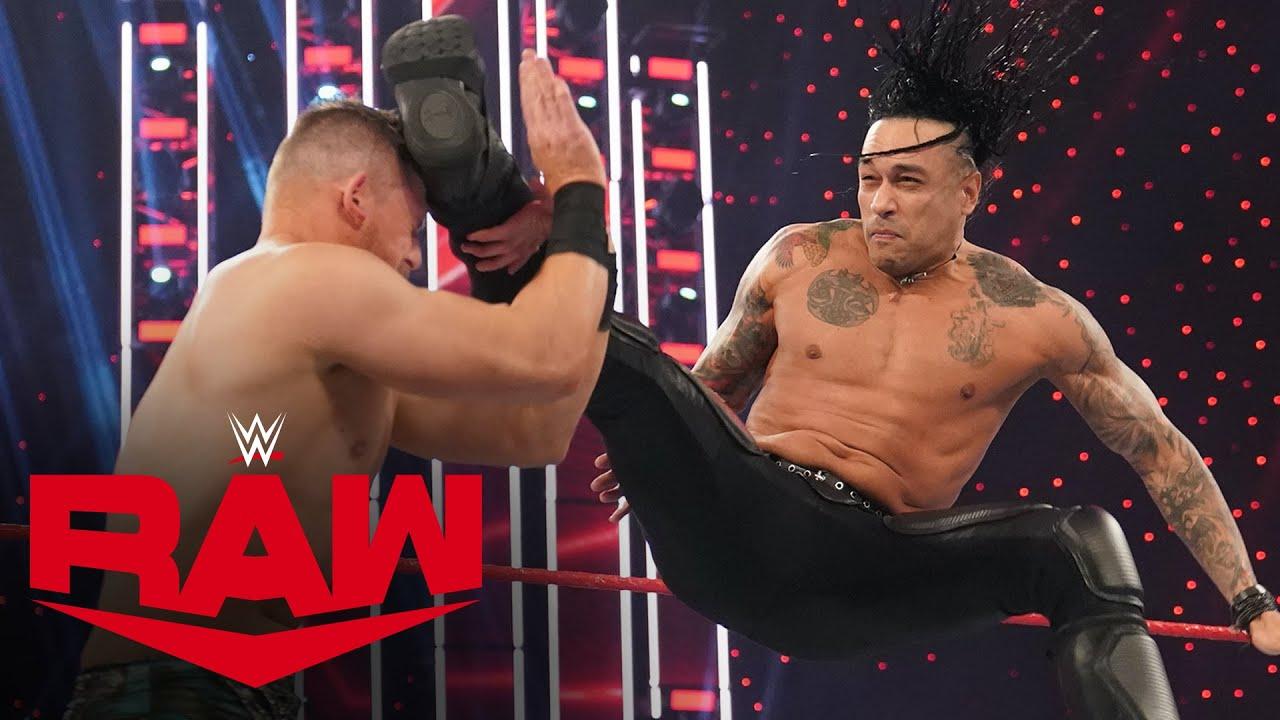 Damian Priest vs. The Miz: Raw, Feb. 1, 2021