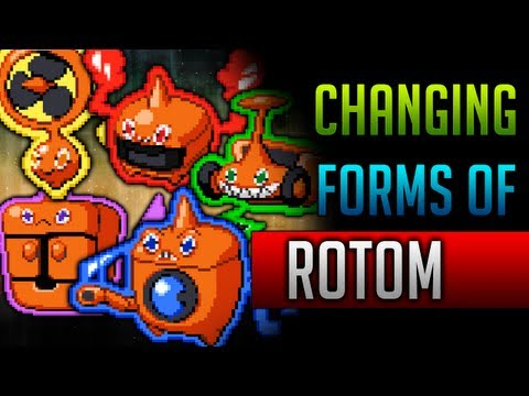 How & Where to catch/get - Rotom's forms in Pokemon Black 2 & Pokemon White 2