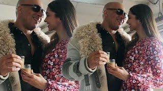 Deepika Padukone & Vin Diesel