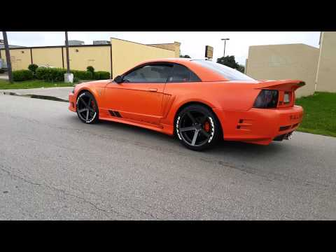 Saleen With Nitto F1 Tire Roll Up Playithub Largest Videos Hub