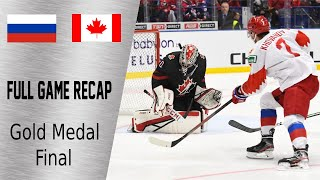 Canada Vs Russia Gold Medal Highlights January 5th WJC 2020