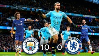 Manchester City 10 - 0 Chelsea - Final Capital One Cup - Resumen y Goles - Parodia HD - Highlights