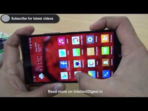 Gionee Elife E7 Review And Hands On With Camera Demo, Features, Benchmarks & Specs- HD Video