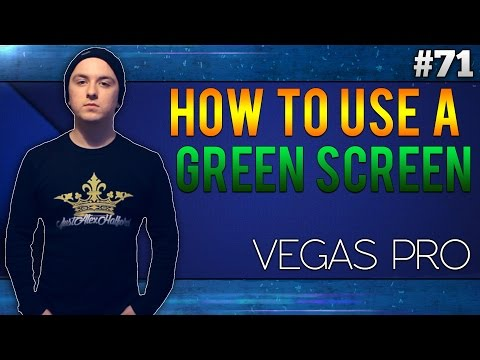 Sony Vegas Pro 13: How To Use Your Green Screen - Tutorial #71