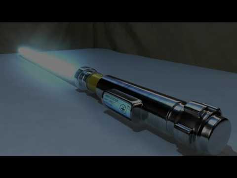 3D LIGHT SABER WITH MAYA