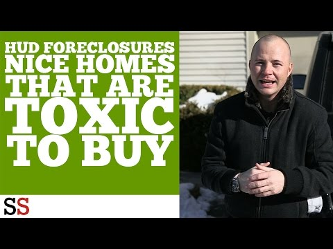 HUD Foreclosures | Nice Homes that ARE Toxic to Buy